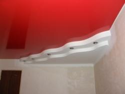 Потолок красный - 2
