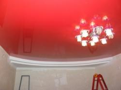Потолок красный - 3