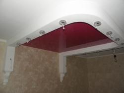 Потолок сиреневый - 2