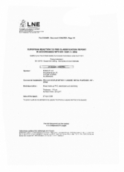 Сертификат Labell-5