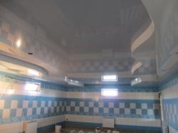 Установка натяжного потолка в помещении с бассейном - 2