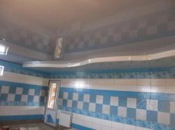 Монтаж натяжного потолка в помещении с бассейном