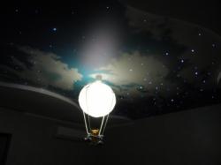 фото натяжного потолка в детской комнате - 1