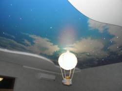 фото натяжного потолка в детской комнате - 3