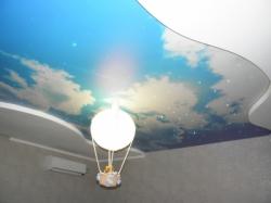 фото натяжного потолка в детской комнате - 4