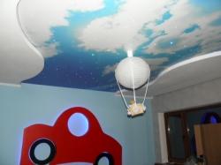 фото натяжного потолка в детской комнате - 6