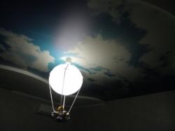 фото натяжного потолка в детской комнате - 8