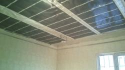 Инфракрасное отопление над натяжным потолком