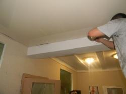 установка натяжного потолка в нашем офисе в Запорожье-10