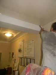установка натяжного потолка в нашем офисе в Запорожье-12