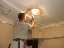 установка натяжного потолка в нашем офисе в Запорожье-2