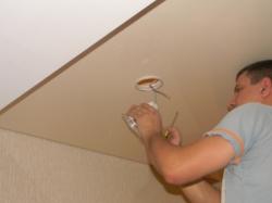 установка натяжного потолка в нашем офисе в Запорожье-4
