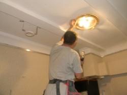установка натяжного потолка в нашем офисе в Запорожье