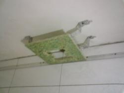 установка натяжного потолка в ванной - 7